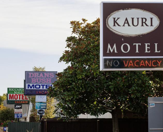Motel and hotel owners have made barely any income throughout the Covid-19 pandemic. Photo: Geoff...