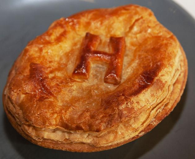 A Hororata pie. Photo: Geoff Sloan