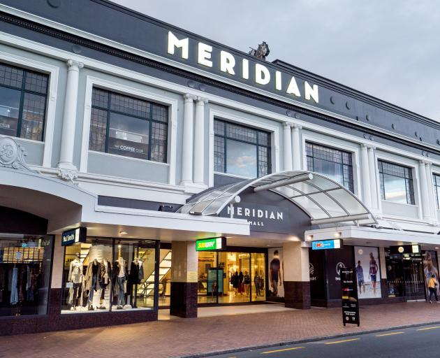 H&J's Dunedin store is house in the Meridian Centre. Photo: ODT files