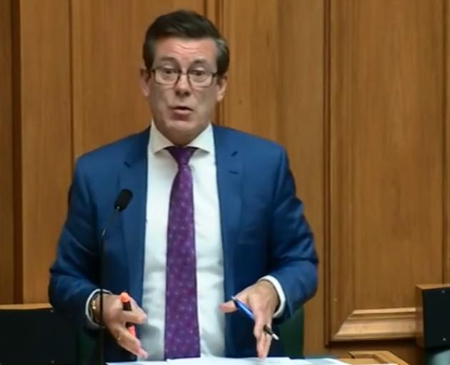 National List MP Michael Woodhouse.