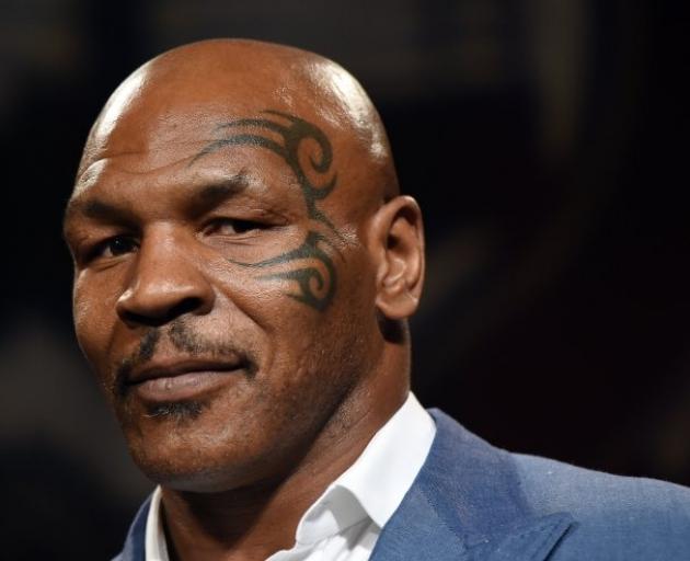 Mike Tyson. Photo: Boxing Scene