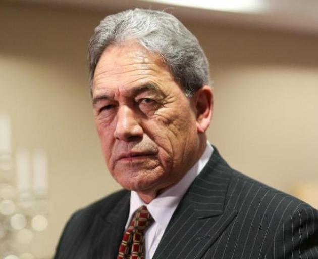 Winston Peters says NZ First believes that the process of moving down to level 1 was taking too...