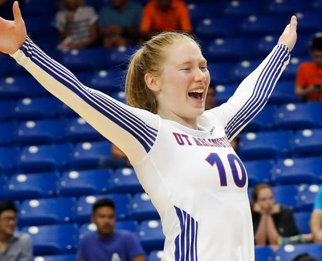Petra Manderson spent two seasons playing volleyball at the University of Texas-Arlington. Photo:...