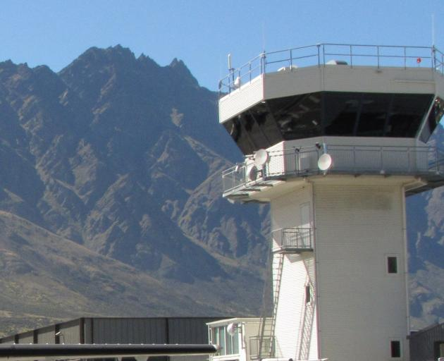Queenstown Airport has been affected by the network outage. Photo: ODT files