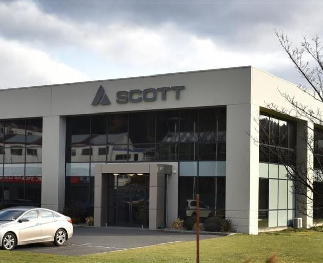 Scott Technology in Kaikorai Valley Rd. Photo by Peter McIntosh