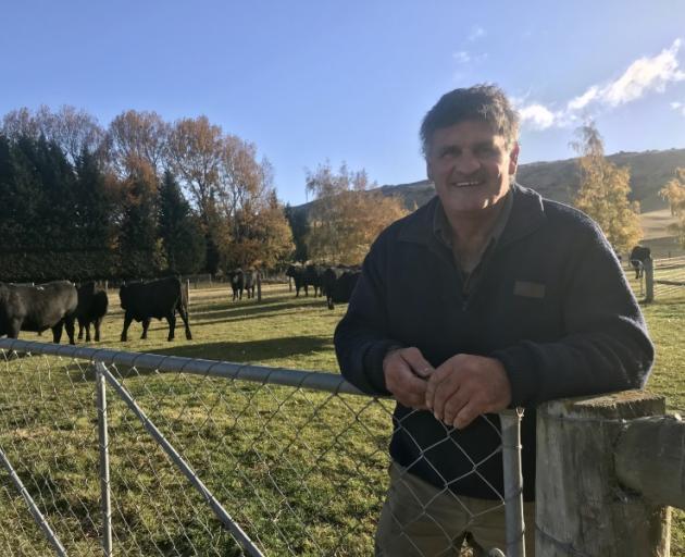 Changes . . . Wedderburn Angus breeder Stu Duncan is looking at a slightly different way of...