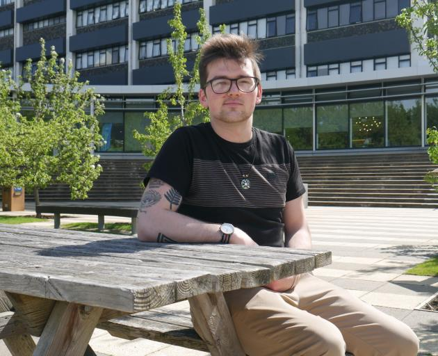 Otago Polytechnic Students' Association president Nathan Laurie (22) is looking forward to...