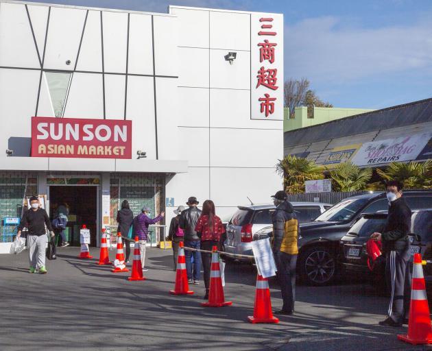 The Church Corner Sunson Asian Market. Photo: Geoff Sloan