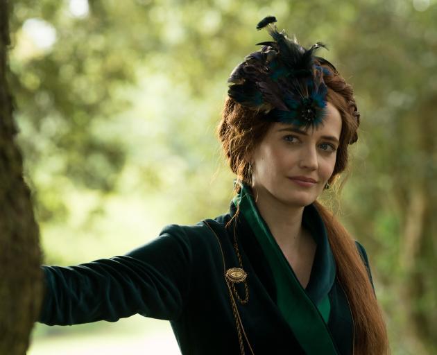 Bafta-winning actress Eva Green plays swindling brothel madam Lydia Wells in The Luminaries.PHOTO...