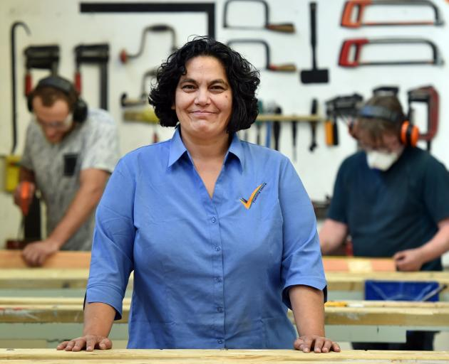 Students at the Dunedin Training Centre will learn how to build tiny houses to set them up for...