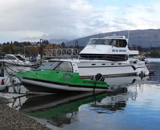 After six weeks of tight restrictions, Wanaka tourist boat operators were working on their craft...