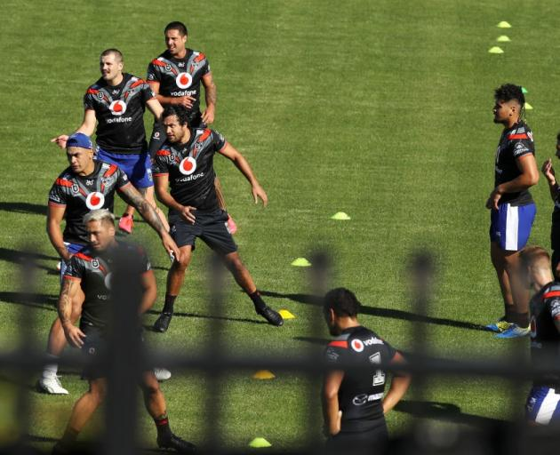 The Warriors restart their NRL campaign next week. Photo: Getty Images