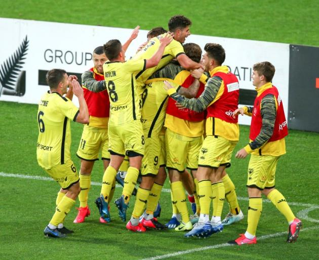 The Wellington Phoenix are set to resume their season in mid-July. Photo: Getty Images