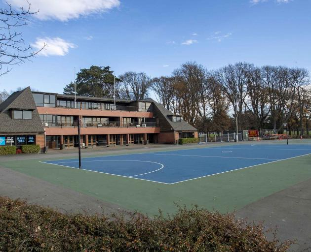 The Christchurch Netball Centre in South Hagley Park. Photo: Newsline / CCC