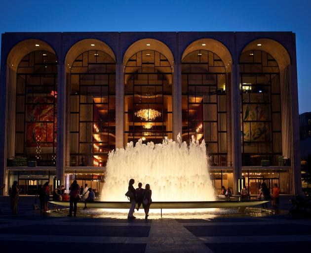 The Metropolitan Opera House at Lincoln Center. Photo: Reuters