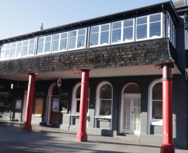 The Fat Lamb, in Queenstown Mall, has been permanently closed. Photo: Mountain Scene
