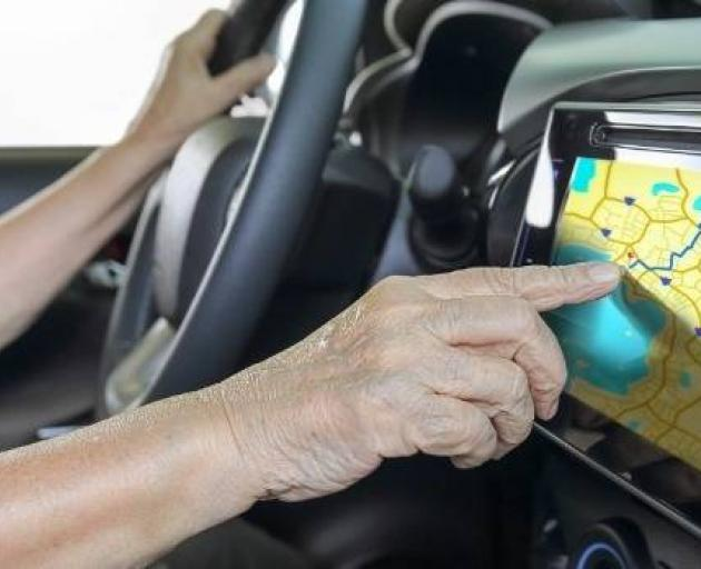 GPS data from the woman's car showed she was at home and at the mall during work days. Photo:...