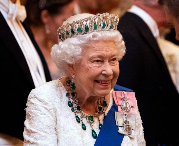The Queen has joined in her first Zoom call. Photo: Getty Images