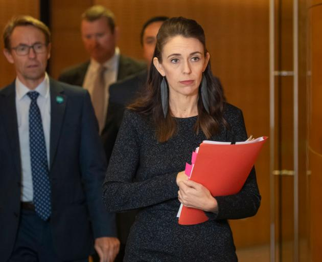 Prime Minister Jacinda Ardern is set to be joined by director general of health Dr Ashley...