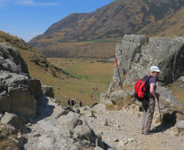 The walk features some stunning scenery. Photo: Ashburton Courier