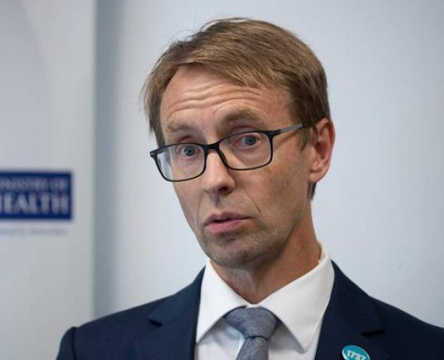Director-General of Health Dr Ashley Bloomfield. Photo: NZ Herald