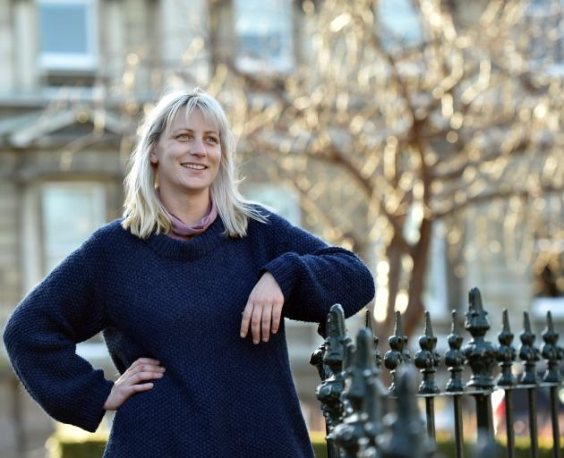 Art in the heart of the city ... Ayesha Green, of Dunedin, has had her sculpture chosen for the...