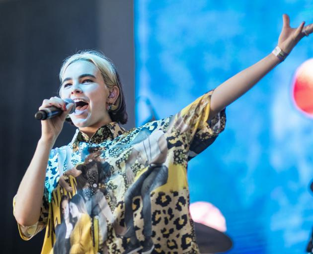 Benee at St Jerome's Laneway Festival in Brisbane on February 1, 2020. Getty