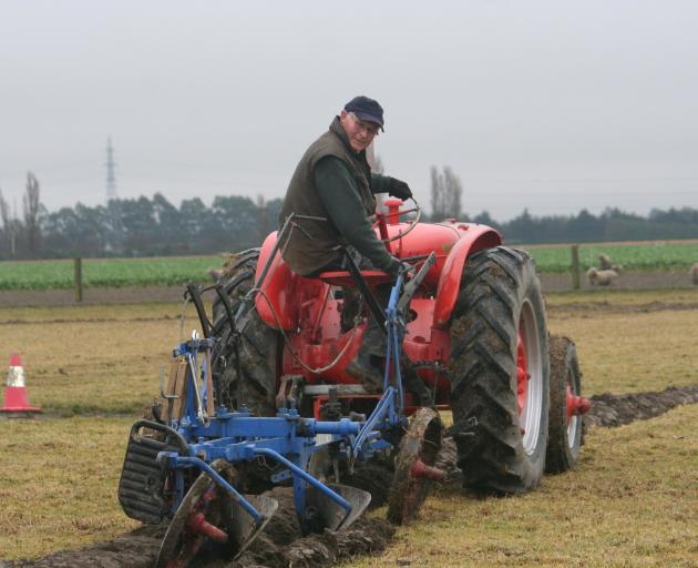 Mid Canterbury Vintage Machinery Club ploughing committee president Colin Boon has already...