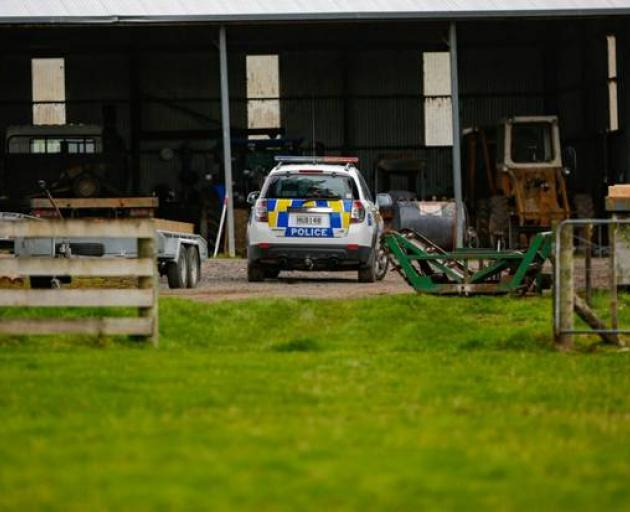 Police were alerted to the incident just after 11am on Sunday. Photo: NZ Herald