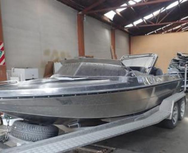 A photo of the jet boat. Photo: Transport Accident Investigation Commission
