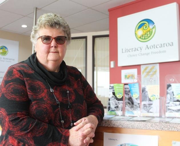 A ''great ride'' ... Literacy Aotearoa Charitable Trust manager Nellie Garthwaite, of...