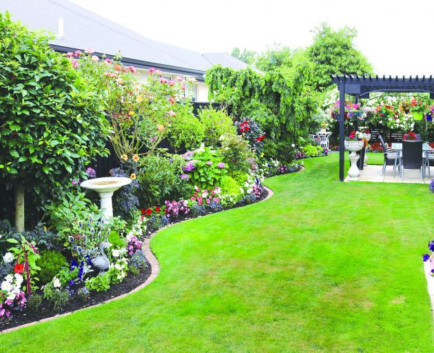 An award-winning Christchurch garden. Photo: Geoff Sloan