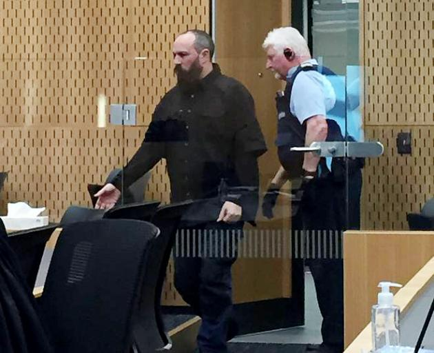 Jeremy Powell, 45, at the High Court in Christchurch on Wednesday. Photo: NZH