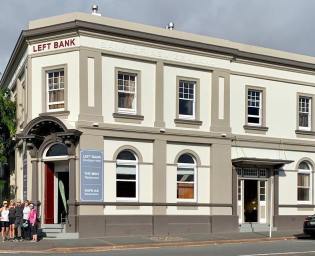 The Left Bank Hotel is an impressive beacon in Kaikohe.