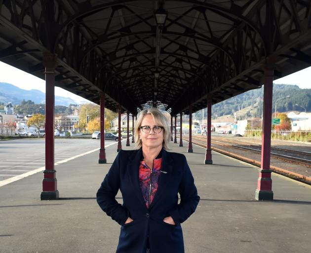 Otago Farmers Market manager Kate Vercoe.