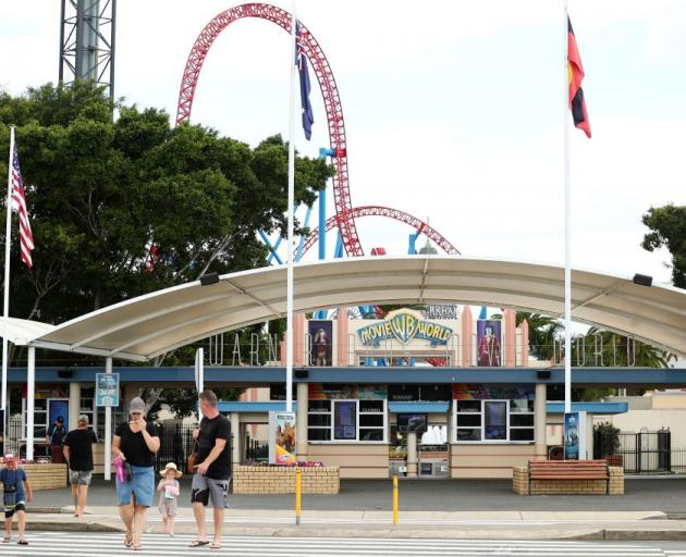 Movie World is set to reopen on the Gold Coast. Photo: Getty Images