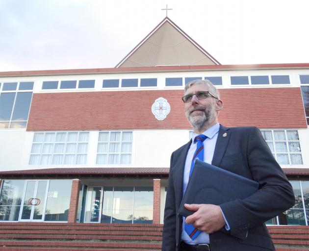St Kevin's College principal Paul Olsen. PHOTO: DANIEL BIRCHFIELD