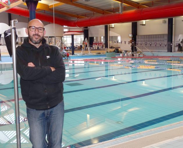 Waitaki Aquatic Centre manager Matthew Lanyon at the aquatic centre yesterday, before its...