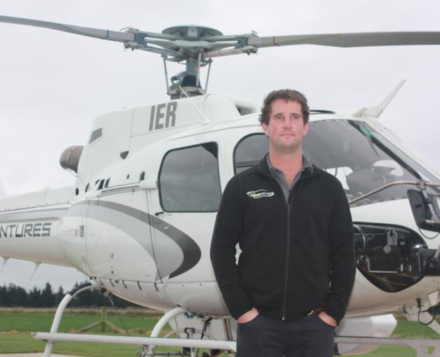 Helicopter pilot Matt Irving, of Kurow, has been awarded an Australian Bravery Decoration after a dramatic rescue two years ago. PHOTO: GUS PATTERSON