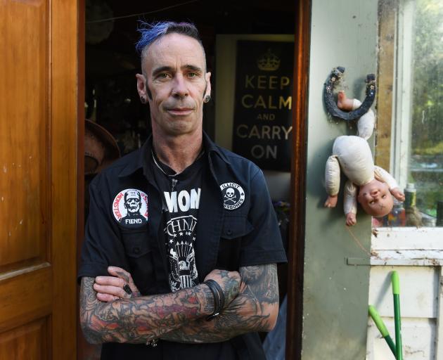 Self-acknowledged suspect in the killing of miniature horse Star, Reg Ozanne, at his Waitati home...