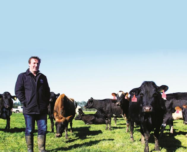 Keen as mustard ...Athol New says the number one thing employers in the dairy sector look for is...