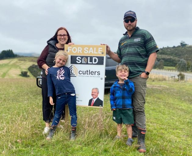 Nikki and Brock Anderson with their two children Ruby (7) and Amos (4) have enjoyed getting their...
