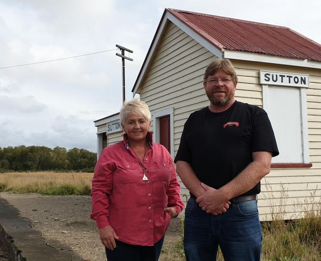 Strath Taieri Heritage Park concept development team members Jacquie Lucas and Richard Emerson are inviting everyone to a public meeting on Monday. PHOTO: SUPPLIED