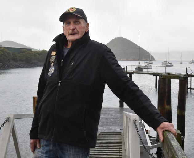 Warren Lewis, of Port Chalmers, is concerned about new blue cod regulations for Dunedin-area...