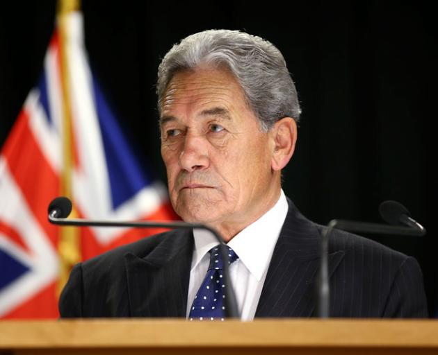 Deputy Prime Minister Winston Peters. Photo: Getty