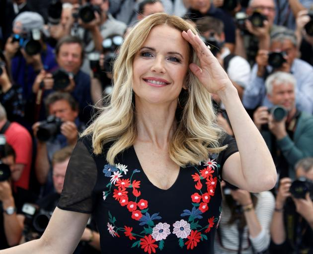 Kelly Preston at the 71st Cannes Film Festival in 2018. Photo: Reuters