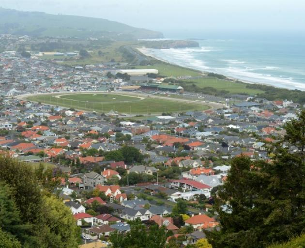 A view of St Clair, St Kilda, South Dunedin from Hillhead Rd. Photo: Linda Robertson