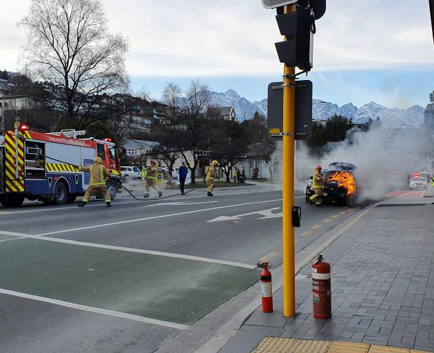 Police and Fire and Emergency New Zealand were called to Stanley Street, near Liquor King, about...