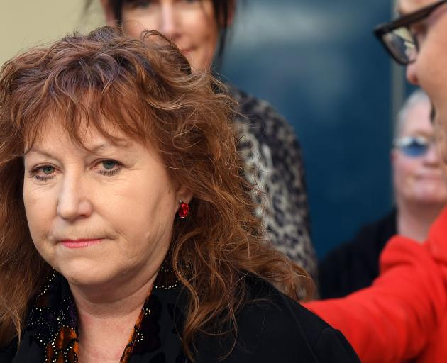Dunedin South MP Clare Curran fronts media on the day she resigned as a minister ...
