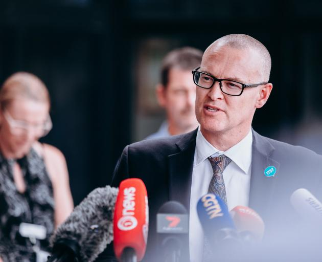 Health Minister David Clark. Photo: RNZ
